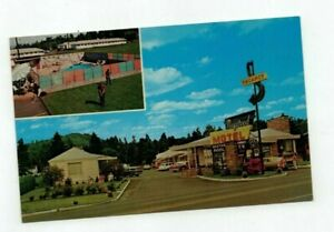 "OR Portland Oregon vintage post card ""Maywood Motel"""