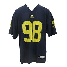 NCAA Official Home Football Jersey Collection by adidas & Gen 2 Youth Sz (s-xl) Michigan Wolverines Navy Blue L
