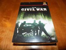 THE CIVIL WAR BATTLES GUNS Weapons Gun Battles History Channel 7 DVD SET NEW