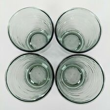 Set of 4 Drinkware Acrylic Green  Hearth & Hand with Magnolia New