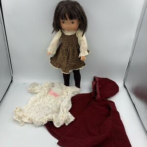 """My Friend Jenny Fisher-Price 212 Vintage 1978 16"""" Doll w/ original dress + extra"""
