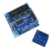 Capteur sensors Shield V5.0 Digital Analog Module Servo Motor pour Arduino UNO