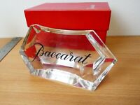 Baccarat Crystal  Advertising Display Sign Plaque