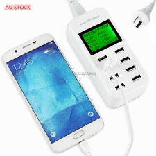 8 Port SmartCharge LEDdisplay USB Wall Charger for All Android/IOS/Pad/Cellphone