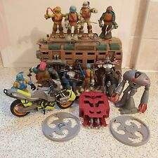 Teenage Mutant Battle Bus + Figures +Accessories