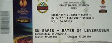 TICKET UEFA EL 2012/13 Sturm Graz - Bayer Leverkusen