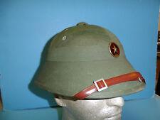 b6737 Vietnam NVA North Vietnam Army pre 1975 Fiber shell Head Gear hat