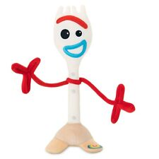 GENUINE DISNEY Toy Story 4 Forky Large Plush Soft Toy Figure 28cm **NEW**