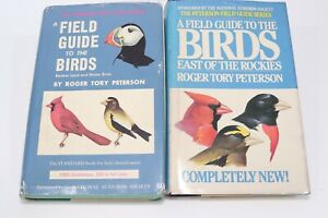 Lot 2 Vintage Field Guide To The Birds Eastern Land & Water Birds East Peterson