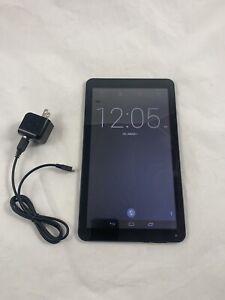 "DigiLand Android Tablet (DL1010Q) Black - 16GB, 10.1"" 1024 x 600 Quad Core WORKS"
