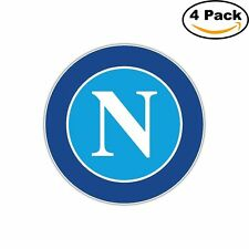 Napoli FC Italy Football Soccer Decal Diecut Sticker 4 Stickers