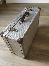 More details for aluminium antique luggage