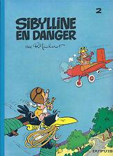 BD  Sibylline N°2 - Sibylline en danger - RE -1980 - TBE - Macherot