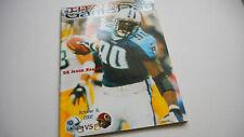 Tennessee Titans Washington Redskins 2002 Program Book Jevon Kearse