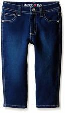Limited Too Girls' Stretch Denim Capri Jean, Blue Wash, 4