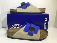 Birkenstock Mens Size 9 EU 42 Copenhagen Ultra Blue Nubuck Sandals ZB6-310