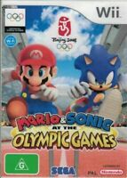 MARIO & SONIC At The Olympic Games ( Nintendo Wii ) PAL Video Game - Complete