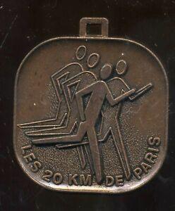 medaille A S C AIR  les 20 km de PARIS 1983
