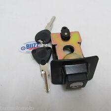 Vespa  PX 125 Seat Lock with 2 Keys in Black