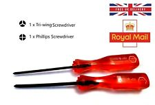 Nintendo Tri Wing & Philips Screwdriver Set For Switch Wii U Gameboy DS GBA SP