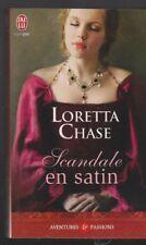 SCANDALE EN SATIN Loretta Chase roman livre Erotique