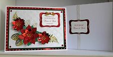 Large A4 Boxed Personalised Christmas Card for Wife/Husband/Girlfriend/Mum etc