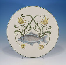 "V&b VILLEROY & BOCH ""G. brownidge pesce Service"" rifiuti alimentari PIATTO 26 cm."