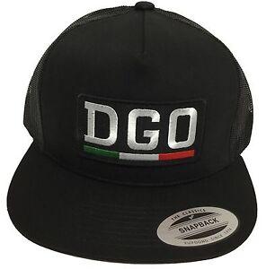 DURANGO MEXICO HAT  BLACK MESH SNAPBACK ADJUSTABLE NEW HAT