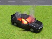 1:87 Subaru Impreza WRC H0 Vollbrand LED 12V Feuer Laser Cut Patina Top #51