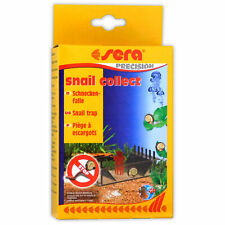 Sera Snail Collect Bristle Worm Trap Freshwater Marine Aquarium Fish Tank