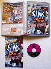 LES SIMS PERMIS DE SORTIR sur Nintendo GAMECUBE GAME CUBE