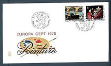 LUXEMBOURG - LUSSEMBURGO - 1975 - BUSTA - FDC - Europa: quadri