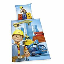 Bed Linen Herding Smooth Baby Bob the Builder Gift 100 x 135 cm NEW WOW