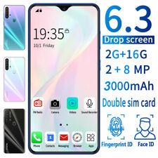 "Unlocked P37 6.3"" 2G+16G Dual SIM Android 3G Smart Phone Fingerprint Unlocking"