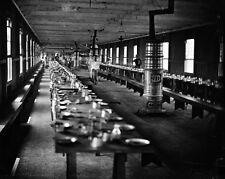 New 8x10 Civil War Photo: Mess Hall at Harewood Hospital, Washington