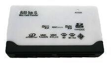 Lector de tarjetas USB Compatible para SD XD CF MMC MS SDHC TF Grabador 2322R