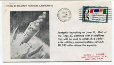 1966 Titan 3C Military Network Launching Patrick Air Force Base Satellites SPACE