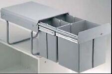 Wesco Poubelle 30 dt 2 x 7,5 L Vollauszug déchets collectionneur installation des éboueurs
