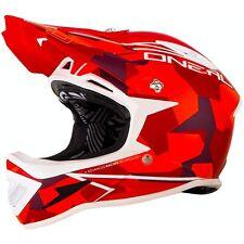 O`Neal Warp RL  Fullface Helm  Downhill FR Dirt ONEAL Größe M Camo red