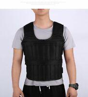 Workout Loading Weight Vest Boxing Weight Training Adjustable Waistcoat Jacket