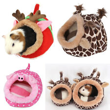 Chinchilla Hedgehog Guinea Pig Bed  Cage Toys House Supplies Habitat New Hot