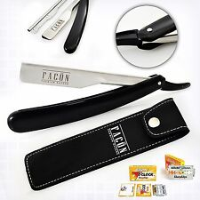 BARBER SALON STRAIGHT CUT THROAT SHAVING RAZOR SHAVETTE RASOIRS RASOI 5 BLADES