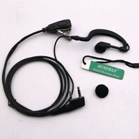 For Uniden  Clip-Ear Headset//Earpiece Mic PTTHandheld VHF Marine Radio SM81