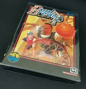 """SNK NEO GEO AES """" DUNK DREAM / STREET HOOP """" 100% Authentic Excellent Condition"""