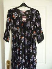 Joe Browns Mystical Boho Dress Black Multi Floral. UK 14 EUR 40-42 US 10