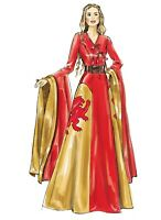 M6840 Sewing Pattern Misses' Cosplay Costume Renaissance Dress LOR McCall's 6940