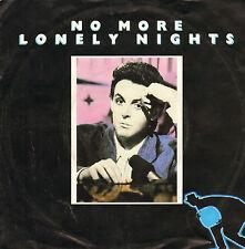 "PAUL McCARTNEY - No More Lonely Nights (1984 VINYL SINGLE 7"" DUTCH PS)"