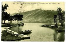 CPA 73 Savoie Aix-les-Bains Lac du Bourget Petit Port et Dent du Chat