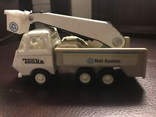 "VINTAGE 1970's ERNEST HOLMES TONKA TOW TRUCK METAL & PLASTIC PLAY TOY  3"" X 7"""