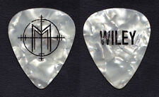 Marilyn Manson Paul Wiley Signature White Pearl Guitar Pick - 2015 Tour